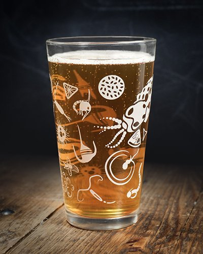 Cognitive Surplus-Cognitive Surplus Ocean Plankton Beer Pint Glass
