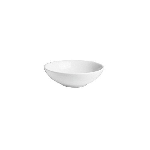 Hall China-6 White 24 Oz. Salad / Pasta Bowls