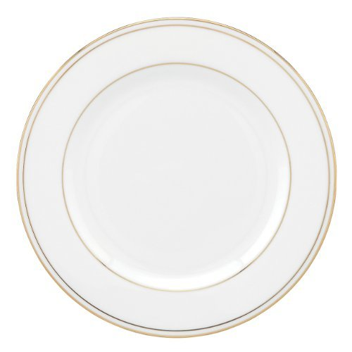 Lenox-Lenox 100110442 Federal Gold Oval Platter, White