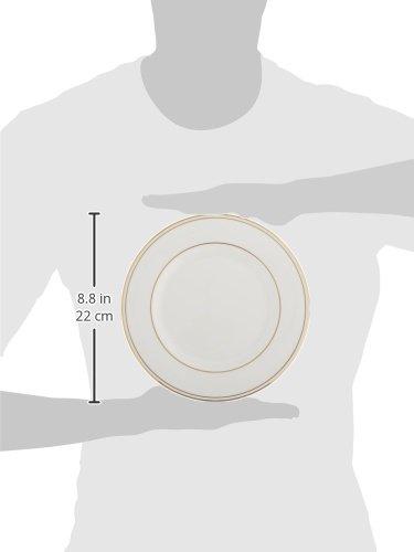 Lenox-Lenox 100110442 Federal Gold Oval Platter, White