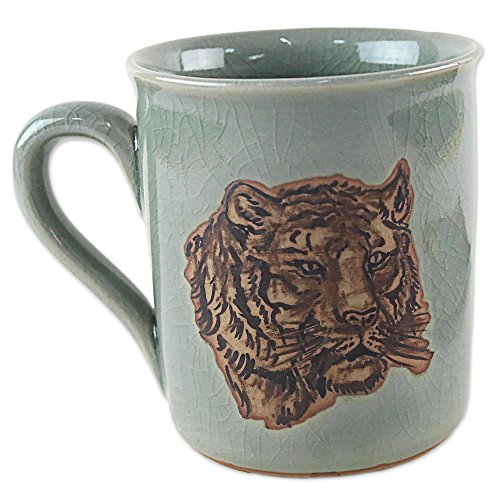 NOVICA-Ceramic Animal Themed Mugs & Cups