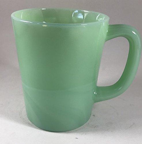 Rosso Glass-Glass Coffee Mug - USA - American Made - Mosser Glass (2, Jadeite Green)