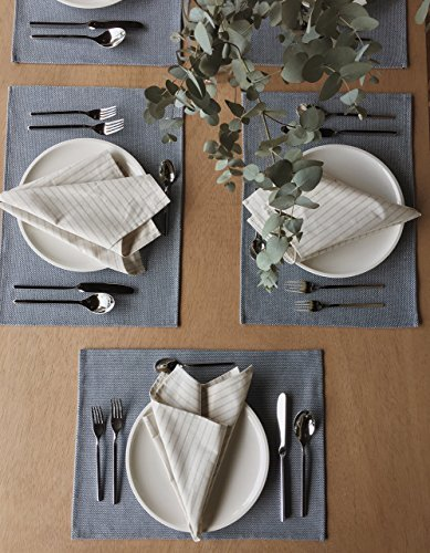 The Conscious Home-Set of 4 - Rustic Linens for Cocktail Parties