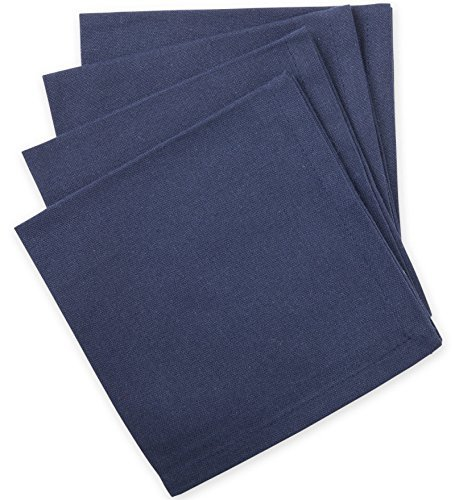 reuseit-Set of 4 Organic Cotton Lunch Napkin - Turquoise