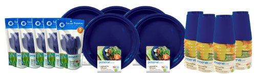 Preserve-120 Pieces On the Go Tableware Set