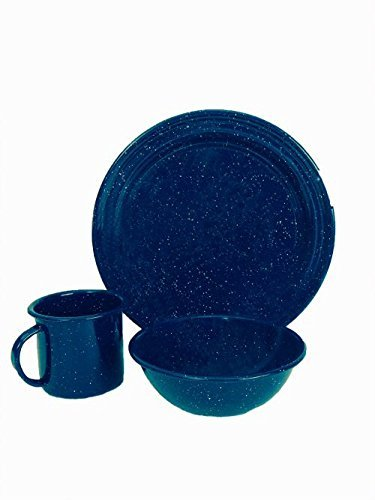 Granite Ware-3-Piece Dinnerware Set