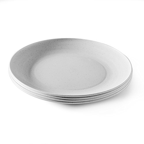 Nordic Ware-Nordic Ware Microwave Safe Plates 4 Piece Eco-Friendly Dinner Plate Set