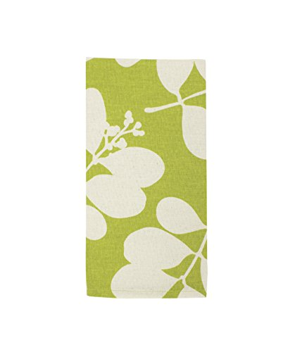 Dandi-Organic Set of 4 Napkins - Succulent Citronelle Green