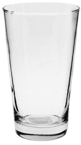 Anchor Hocking-Set of 6 Refresher Pint Beer Glasses 16 oz