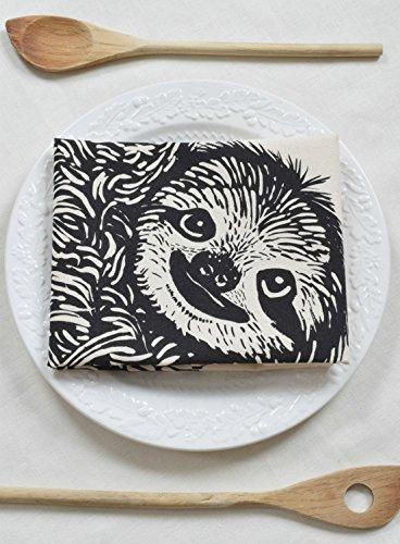 Hearth and Harrow-Sloth Tea Towel