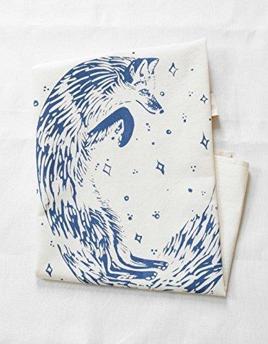 Hearth and Harrow-Celestial Fox Tea Towel
