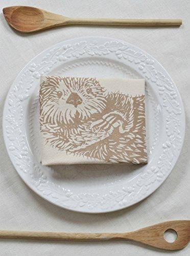 Hearth and Harrow-Otter Tea Towel