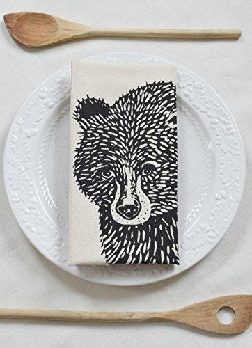 Hearth and Harrow-Bear Tea Towel