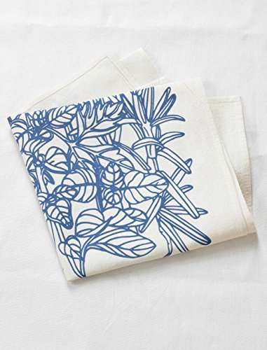 Hearth and Harrow-Culinary Herb Tea Towel