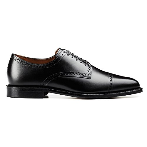 Allen Edmonds-Allen Edmonds Men's Yorktown Oxford, Black, 11.5 3E US