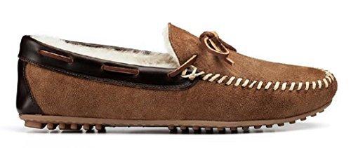 Allen Edmonds-Sandman Shearling Slippers Loafers
