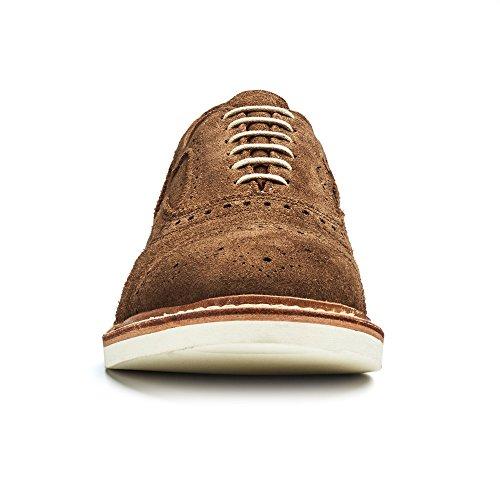 Allen Edmonds-Allen Edmonds Men's Strandmok 2.0 Suede Cap Toe Oxford 10.5 D(M) Men 8250 Saddle Oxfords Shoes