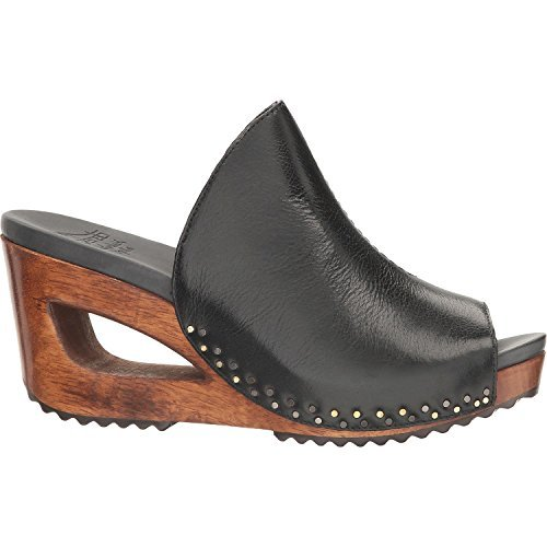 Dansko-Sage Black Tumbled Calf Sandal