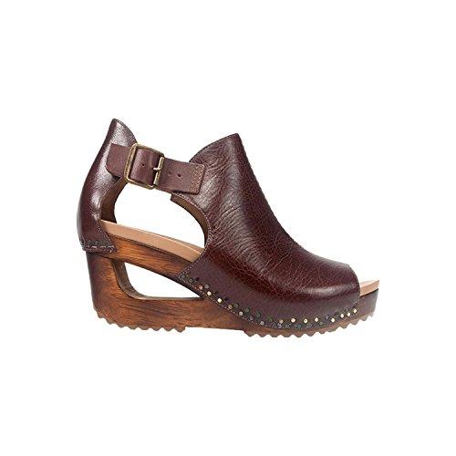 Dansko-Sable Brown Tumbled Calf Sandal