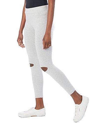 Alternative-Slashed Modal Legging