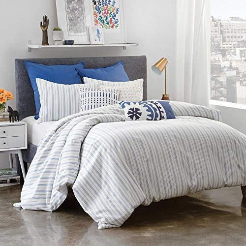 Under the Canopy-Organic Cotton Amalfi Stripe Comforter Set