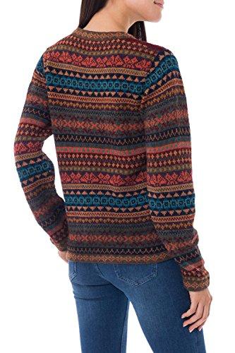NOVICA-Wool Cardigan Sweater