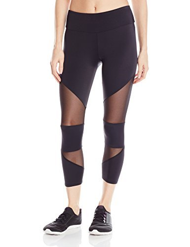 Onzie-Mesh Cut Out Capri