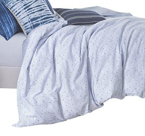 Under the Canopy-Under the Canopy Organic Cotton Shibori Chic Comforter Set, Full/Queen