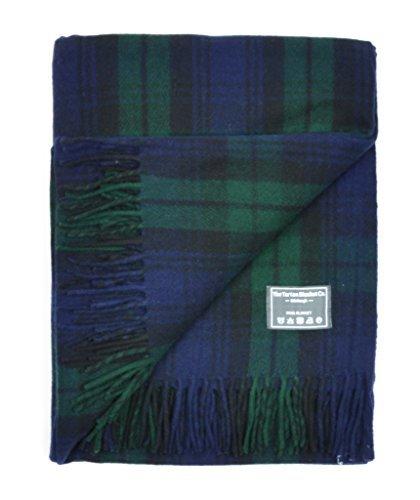 The Tartan Blanket Co.-Recycled Wool Knee Blanket Buchanan Antique Tartan