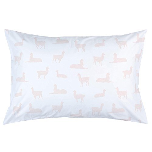 Carousel Designs-Colorful Llamas Pillow Case