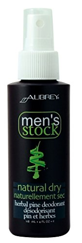 Aubrey Organics-Men's Stock Natural Dry Deodorant