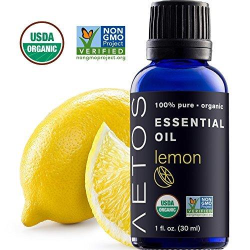 Aetos Essential Oils-Organic Therapeutic Grade Lemon Essential Oil
