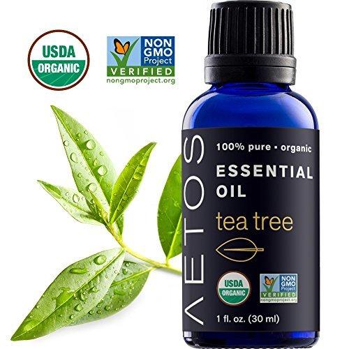 Aetos Essential Oils-Organic Therapeutic Grade Tea Tree Essential Oil