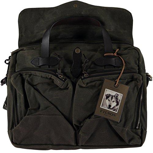 Filson-Tin Briefcase - Otter Green