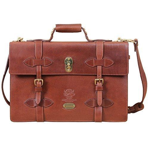 Col. Littleton-Navigator Briefcase - Brown