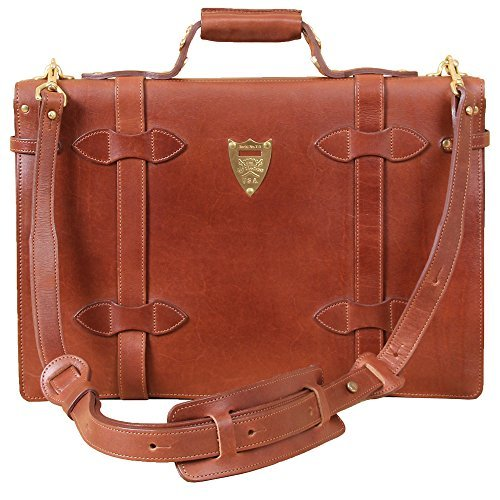 Col. Littleton-Navigator Briefcase - Brown