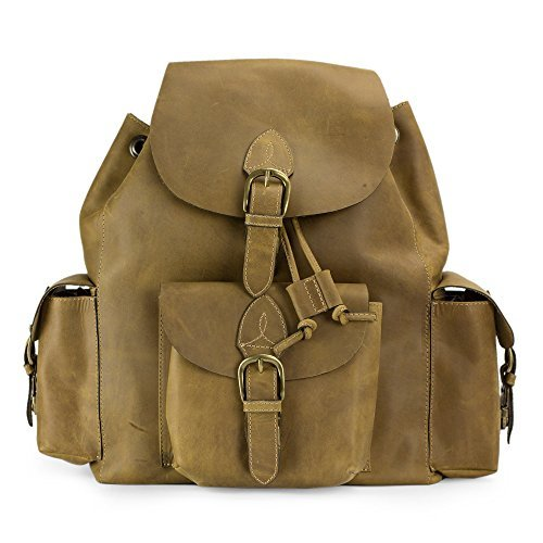 NOVICA-Leather Backpack