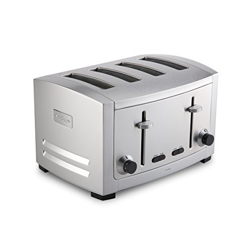 All-Clad-Stainless Steel 4-Slot Toaster with 6 Browning Control Settings and Frozen and Bagel Functions