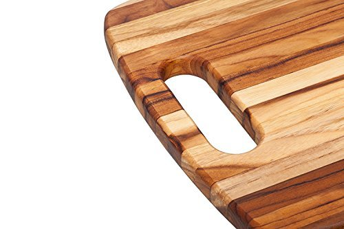 Teakhaus-Rounded Rectangle Chopping Board With Centered Handle