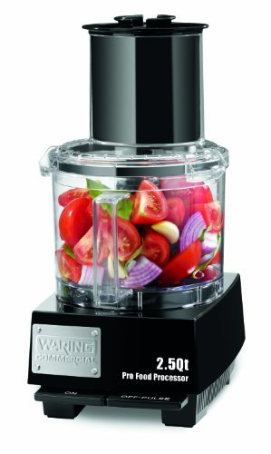 Waring- Batch Bowl Food Processor with LiquiLock Seal System