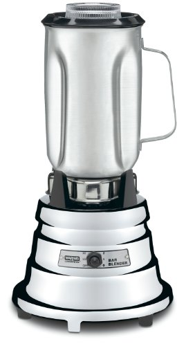 Waring-1/2 HP Chrome Bar Blender with 40-Ounce Glass Container