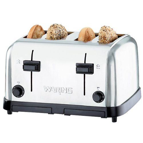 Waring-Waring  (WCT708) Four-Compartment Pop-Up Toaster
