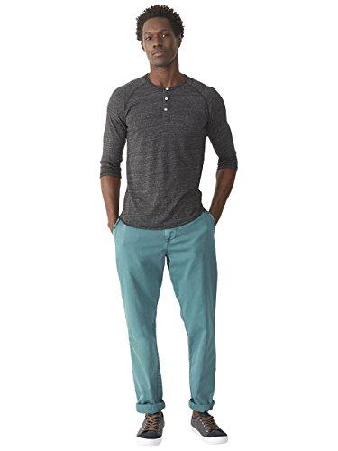 Alternative-3/4 Sleeve Henley Shirt