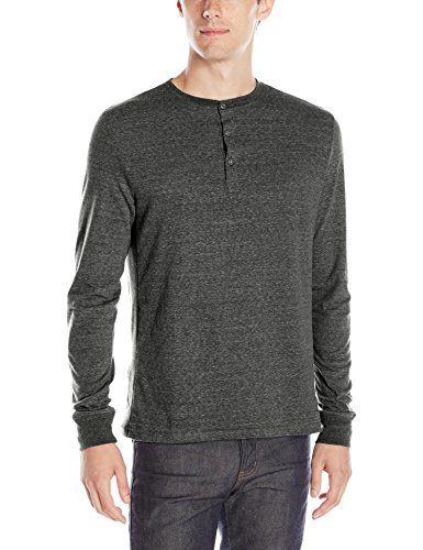 Threads 4 Thought-Triblend Long-Sleeve Henley Shirt