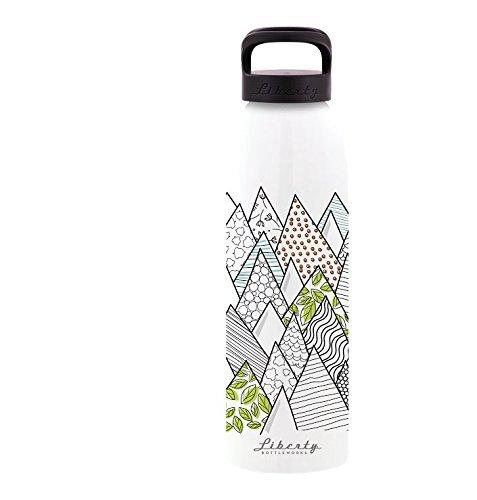 Made in USA Liberty Bottleworks Dahlia Aluminum Water Bottle
