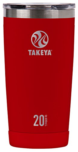 Takeya-Insulated Stainless Steel Tumbler with Sip Lid - Fire
