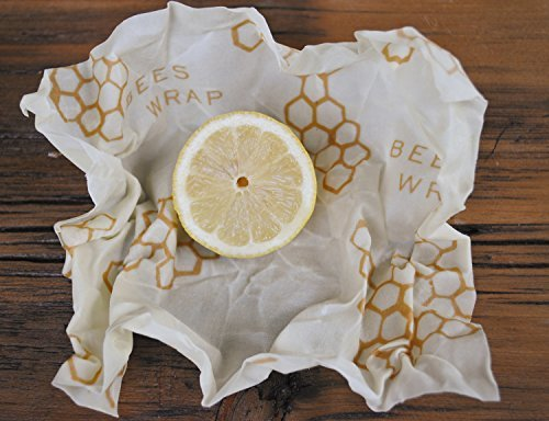 Bee's Wrap-3 Piece Sustainable Reusable Food Storage Assorted