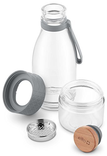 Ello-Zest Glass Infuser Bottle