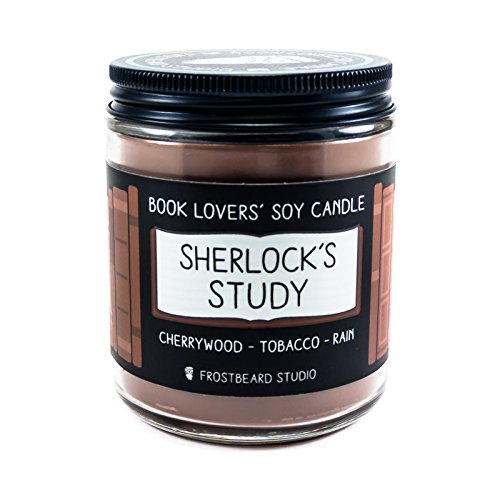 Frostbeard Studio-Sherlock's Study Book Lovers' Soy Candle