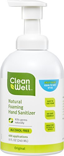 Cleanwell-Natural Foaming Hand Sanitizer - Original Scent